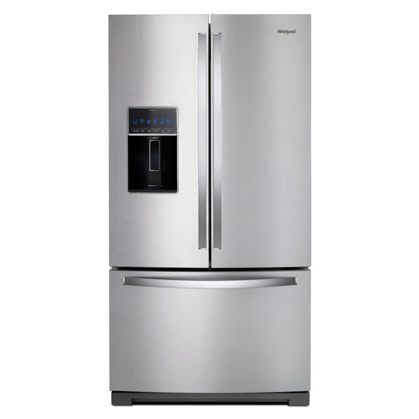 Whirlpool - 27 cu. ft. French Door Refrigerator - Fingerprint Resistant Stainless Steel - Appliances Club