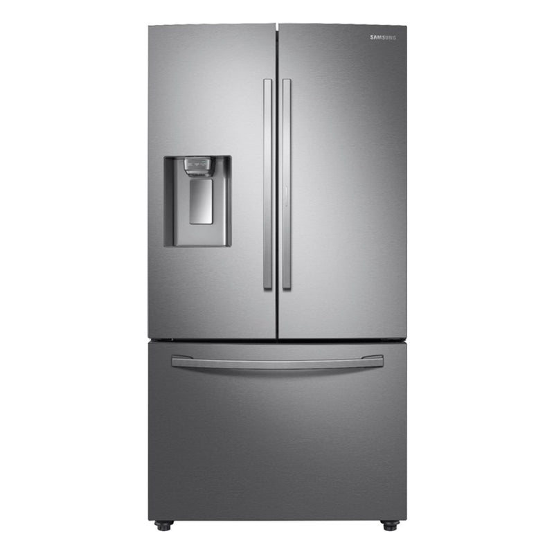Samsung-27.8Cu. Ft.French Door Refrigerator with Food Showcase-Fingerprint Resistant Stainless steel