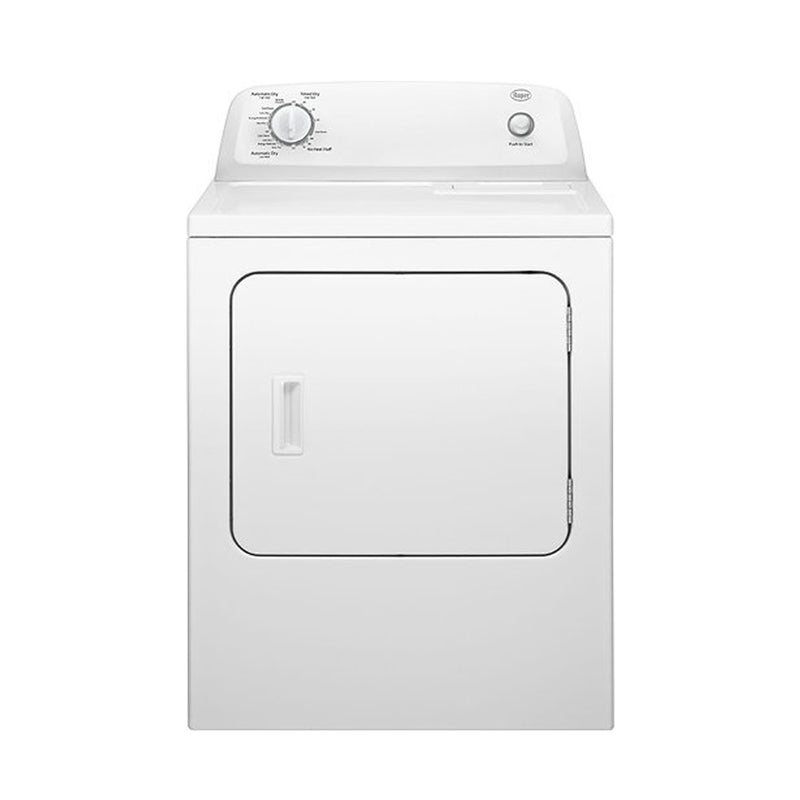 Roper - 6.5 Cu. Ft. 7 Cycle Electric Dryer - White - Appliances Club