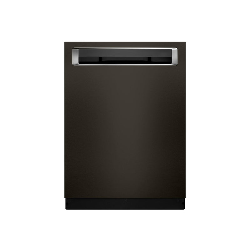 "KitchenAid - 24"" Built In Dishwasher - Black stainless steel - Appliances Club"