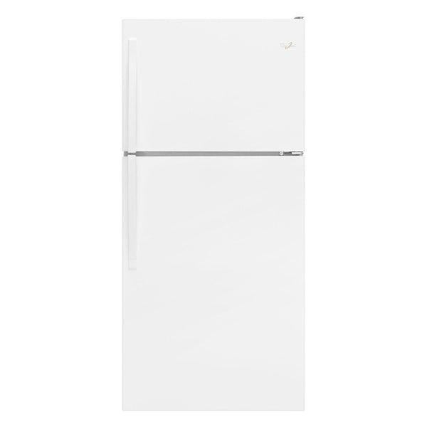 Whirlpool - 18.2 Cu. Ft. Top Freezer Refrigerator - White - Appliances Club