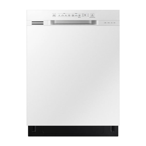 "Samsung - 24"" Front Control Built In Dishwasher - White"
