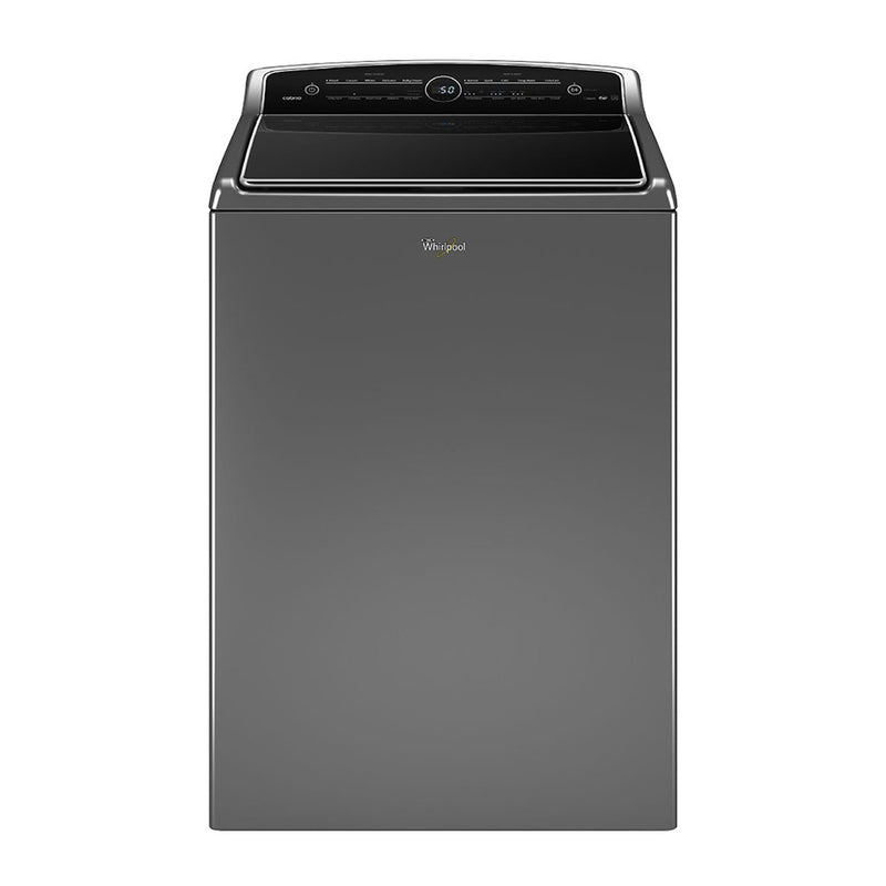 Whirlpool-5.3Cu. Ft. 26 Cycle High Efficiency Top Load Washer with Steam and ColorLast-Chrome Shadow