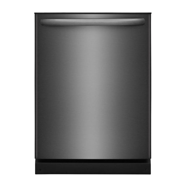 "Frigidaire - 24"" Built In Dishwasher - Black stainless steel"