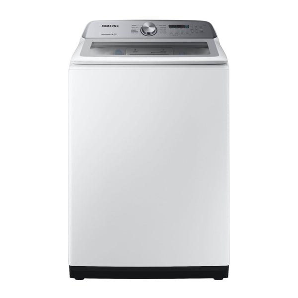 Samsung - 5.0 Cu. Ft. 10 Cycle Top Loading Washer - White