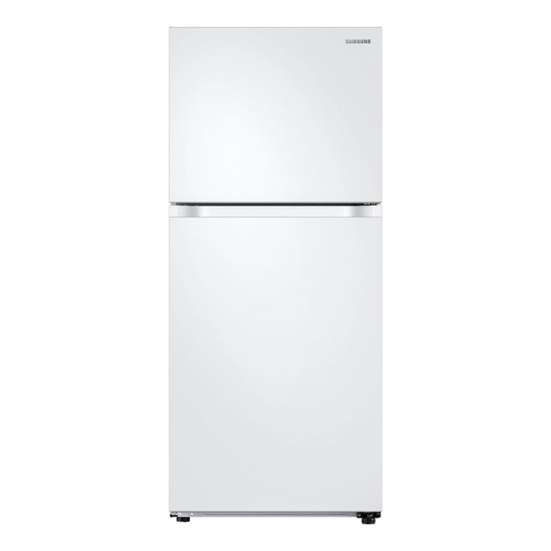 Samsung - 17.6 Cu. Ft. Top Freezer Refrigerator - White