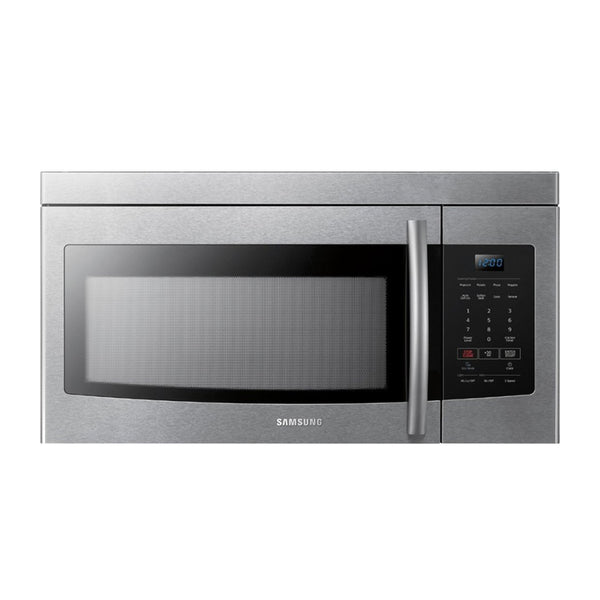 Samsung - 1.6 Cu. Ft. Over the Range Microwave - Stainless steel - Appliances Club
