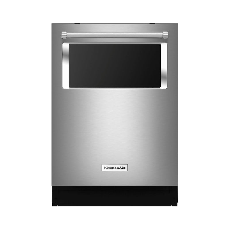 "KitchenAid - 24"" Tall Tub Built In Dishwasher - Stainless steel - Appliances Club"