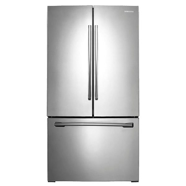Samsung - 25.5 Cu. Ft. French Door Refrigerator with Filtered Ice Maker - Stainless steel - Appliances Club