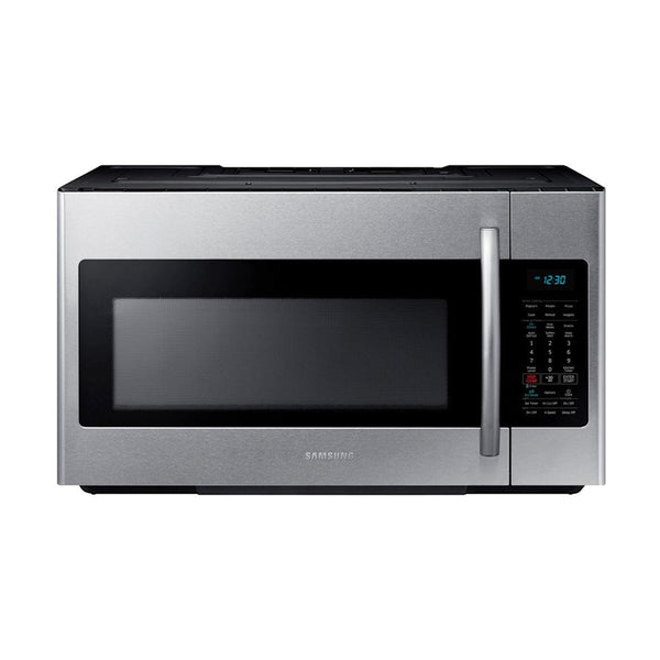 Samsung - 1.8 cu. ft. Over the Range Microwave with Sensor Cooking - Fingerprint Resistant Stainless Steel - Appliances Club