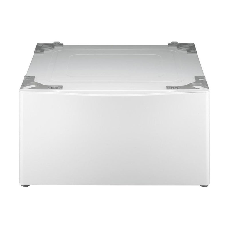 "LG - 27"" Laundry Pedestal with Storage Drawer - White"
