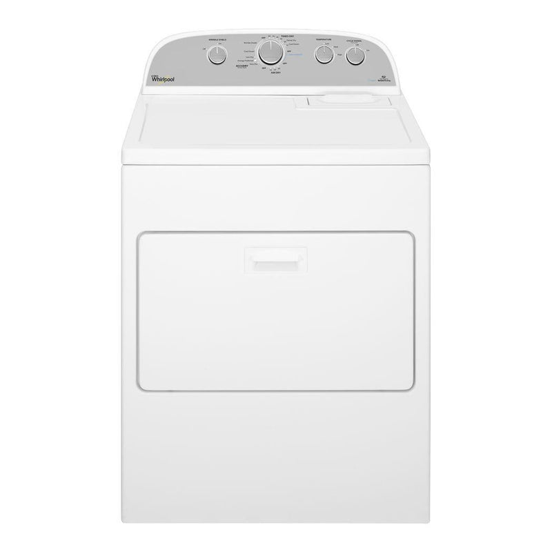 Whirlpool - 7.0 Cu. Ft. 13 Cycle Electric Dryer with Steam - White