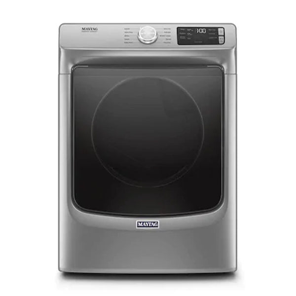 Maytag - 7.3 cu ft Stackable Electric Dryer - Metallic Slate