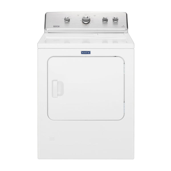 Maytag - 7 Cu. Ft. 12 Cycle Electric Dryer - White - Appliances Club