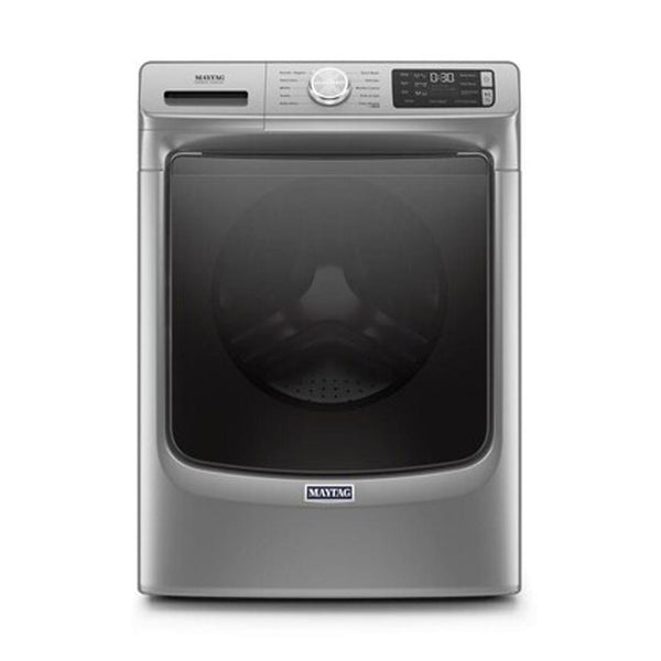 Maytag - 4.5 cu ft High Efficiency Stackable Front Load Washer ENERGY STAR - Metallic Slate - Appliances Club