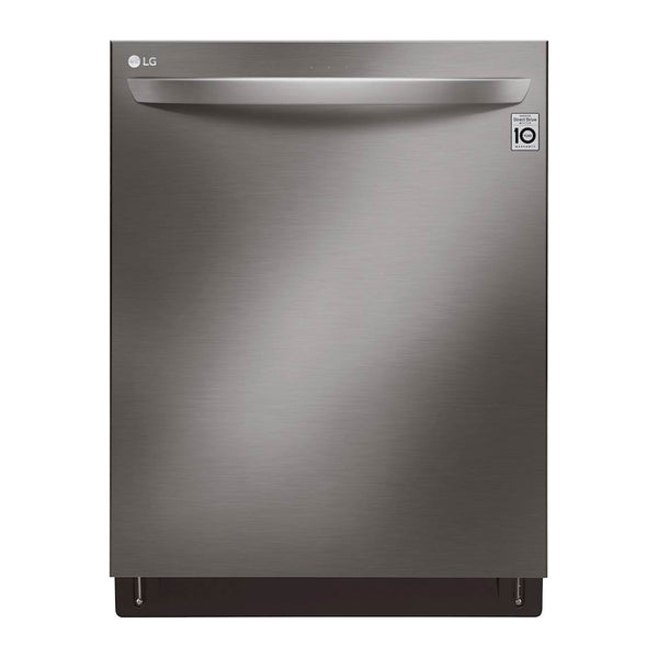 LG - TrueSteam QuadWash 42 Decibel Built In Dishwasher, Energy Star - Black Stainless Steel