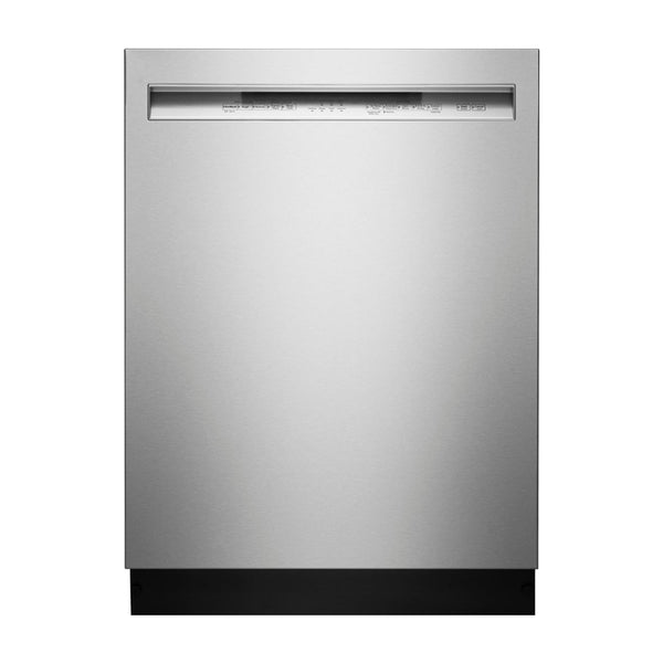 "KitchenAid - 24"" Front Control Tall Tub Built In Dishwasher with Stainless Steel Tub - Stainless steel - Appliances Club"