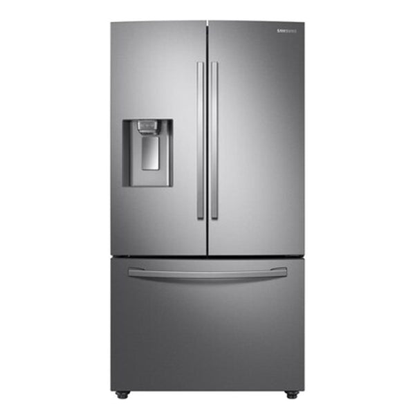 Samsung - 28cu ft French Door Refrigerator with Dual Ice Maker-Fingerprint Resistant Stainless Steel