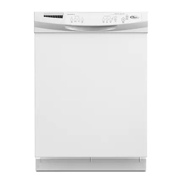 Whirlpool - 60 Decibel and Hard Food Disposer Built In Dishwasher - White - Appliances Club