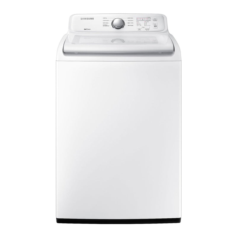 Samsung - 4.5 cu. ft. Top Load Washer with Self Clean - White