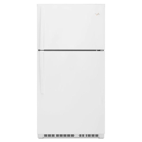 Whirlpool - 21.3 cu. ft. Top Freezer Refrigerator - White - Appliances Club