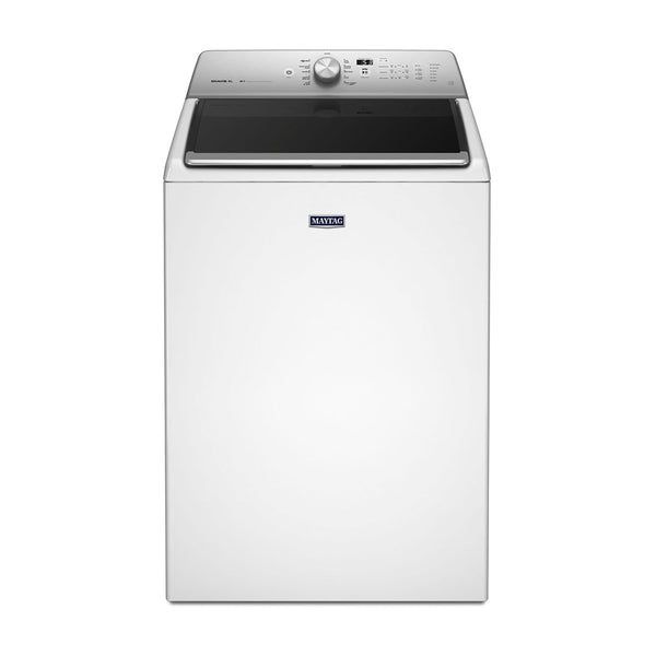 Maytag - 5.3 Cu. Ft. 11 Cycle Top Loading Washer - White - Appliances Club