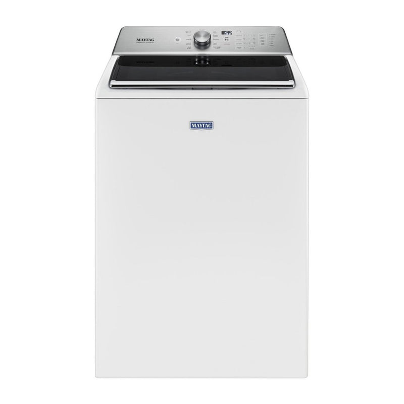 Maytag - 5.2 Cu. Ft. 11 Cycle Top Loading Washer - White