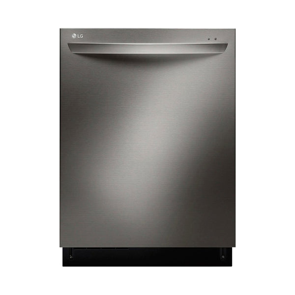 "LG - 24"" Built In Dishwasher with Stainless Steel Tub - Black stainless steel - Appliances Club"
