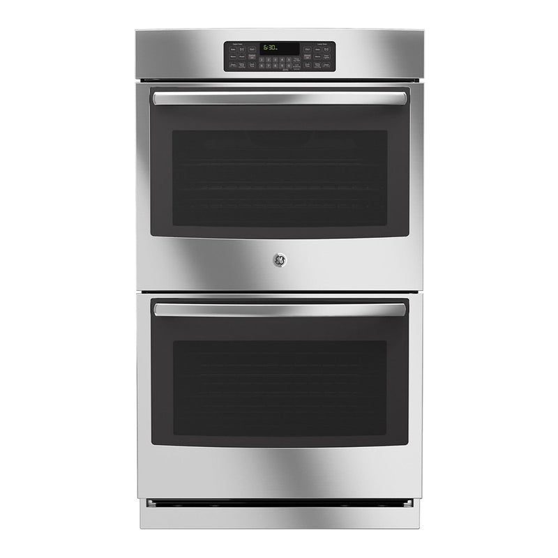 "GE - 30"" Built In Double Electric Wall Oven - Stainless steel - Appliances Club"