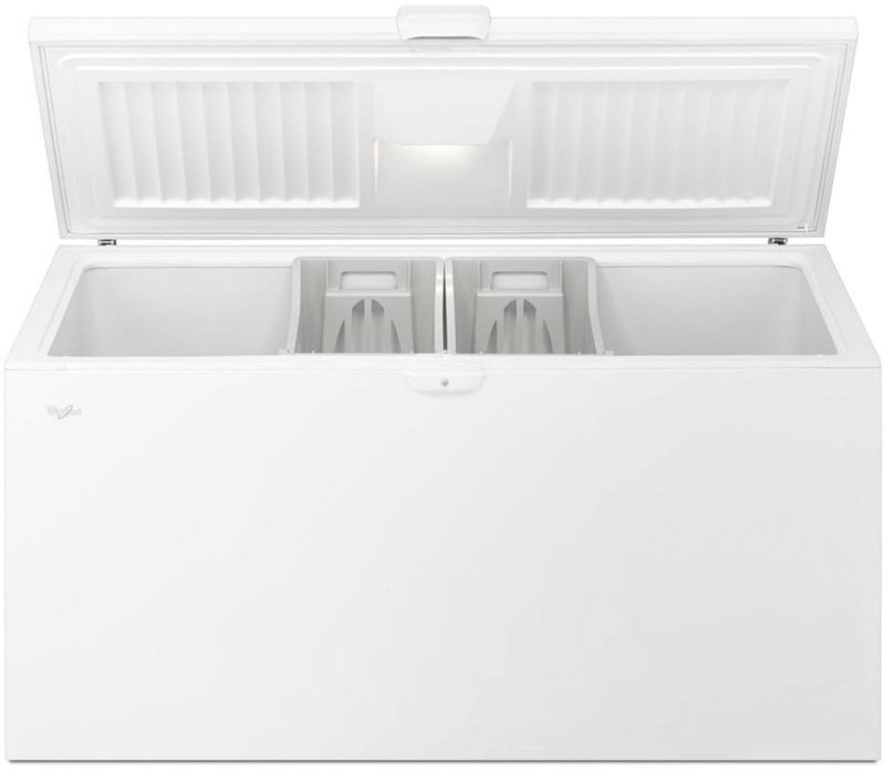 Whirlpool - 21.7 Cu. Ft. Chest Freezer - White