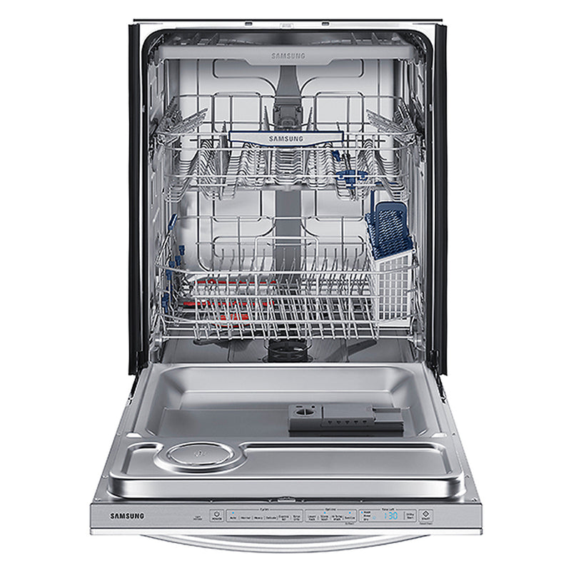 Samsung-Samsung StormWash 44 Decibel Built In Dishwasher-Fingerprint Resistant Black Stainless Steel