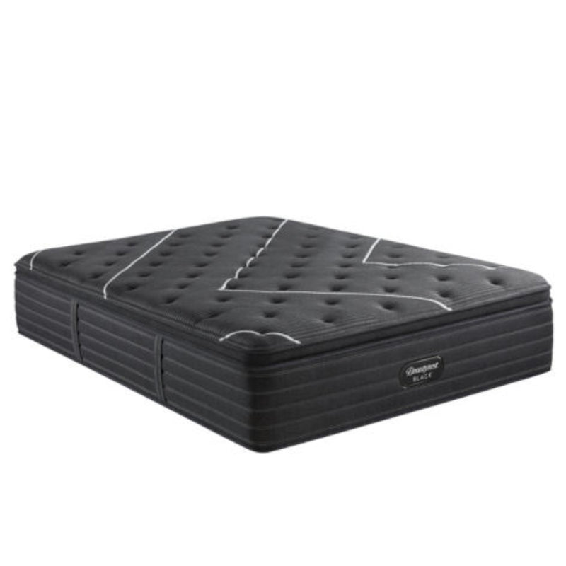 Beautyrest - C Class Plush Pillowtop King - Charcoal