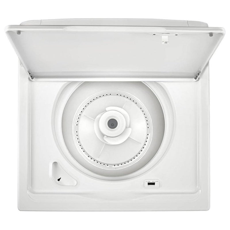Whirlpool - 3.5 Cu. Ft. 12 Cycle Top Loading Washer - White - Appliances Club