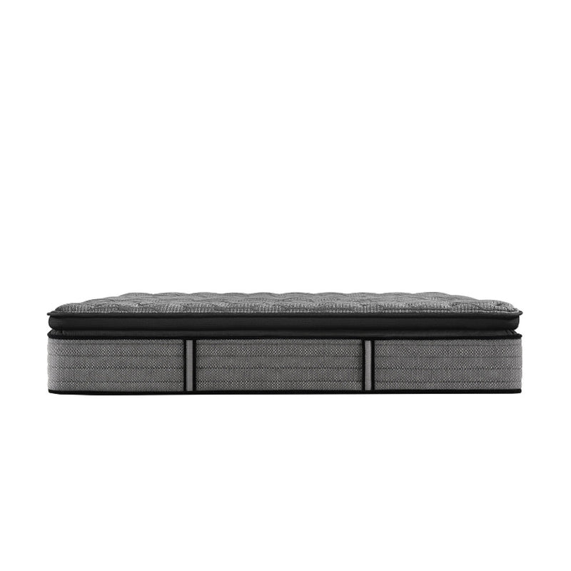 Sealy - Posturepedic Humbolt Ltd Firm Pillow Top Queen - Gray