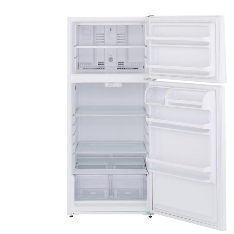 Whirlpool - 14.3 cu. ft. Top Freezer Refrigerator - White - Appliances Club
