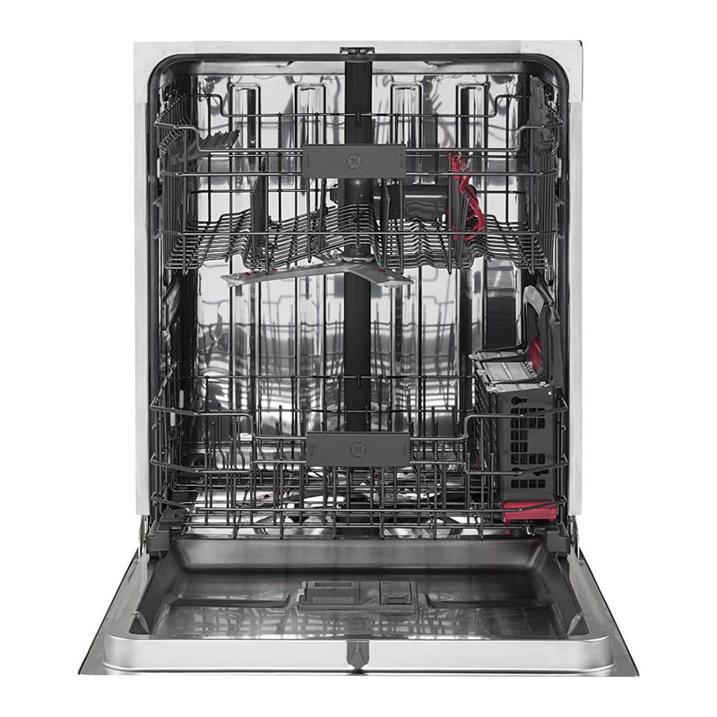 "GE - Profile™ Series 24"" Top Control Tall Tub Built In Dishwasher - Black Slate - Appliances Club"