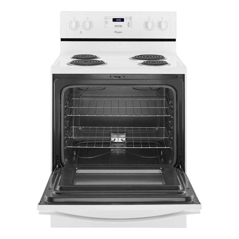 Whirlpool - 4.8 Cu. Ft. Freestanding Electric Range - White