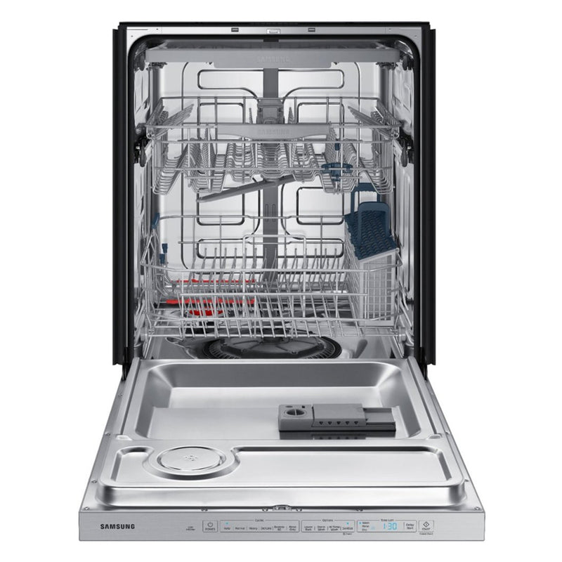 Samsung-StormWash™ 48 dBA Dishwasher with Stainless Steel Tub-Fingerprint Resistant Stainless Steel