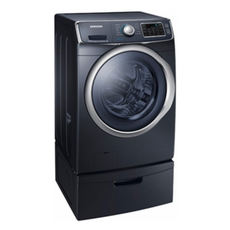 Samsung - 4.5 Cu. Ft. 13 Cycle High Efficiency Steam Front Loading Washer - Onyx