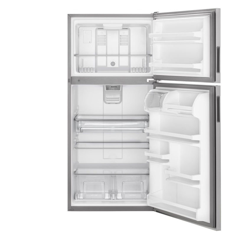 Maytag - 20.5 Cu. Ft. Top Freezer Refrigerator - Stainless steel - Appliances Club