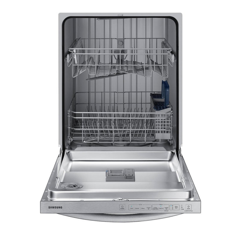 "Samsung - 24"" Top Control Built-In Dishwasher - Stainless steel - Appliances Club"