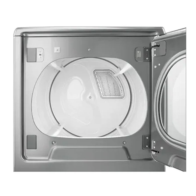 Whirlpool - Cabrio 8.8 Cu. Ft. 23 Cycle Steam Electric Dryer - Chrome