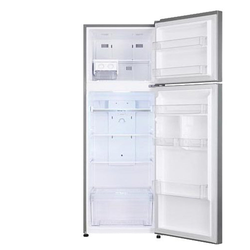 "LG - Large Capacity 24"" Wide Compact Top Mount Refrigerator - Platinum Silver"