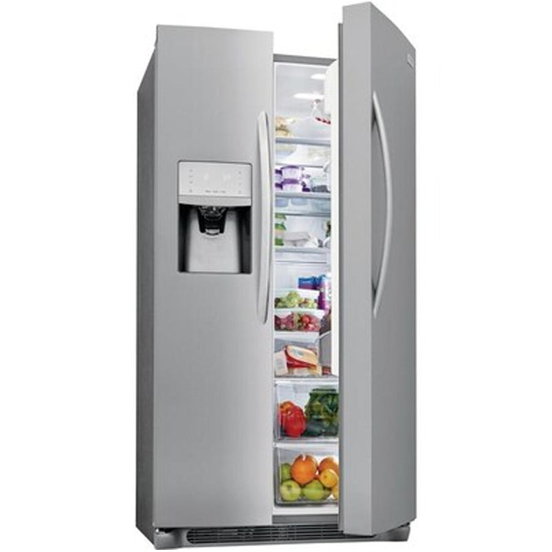 Frigidaire - Gallery 25.5 cu ft Side by Side Refrigerator with Ice Maker - Appliances Club