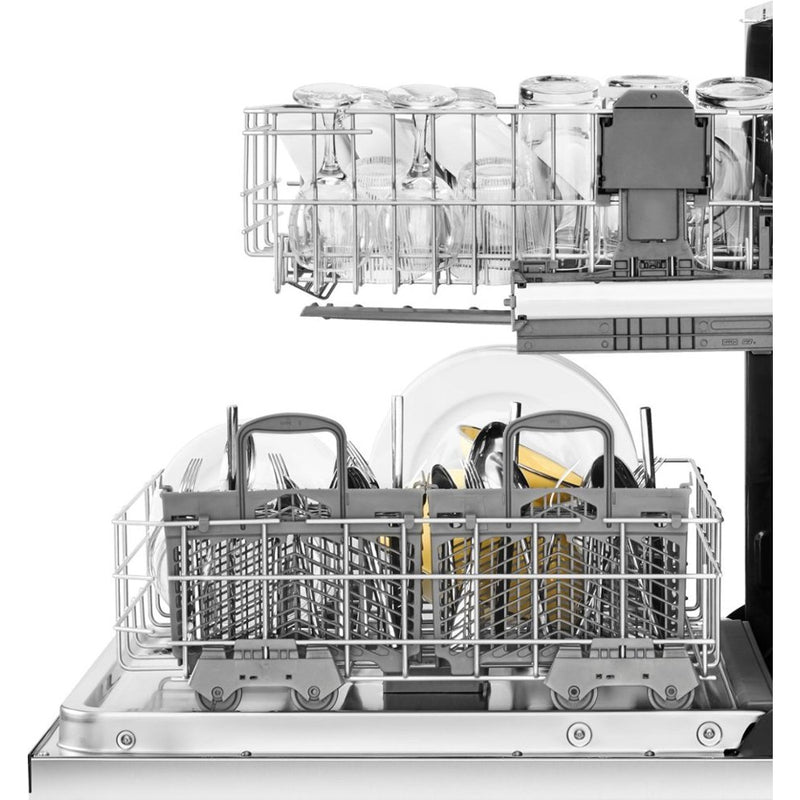 "Whirlpool - 24"" Built In Dishwasher - Fingerprint Resistant Stainless Steel"