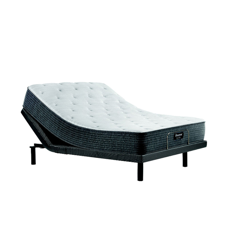 Beautyrest - BRS900™ Plush King - Light Gray