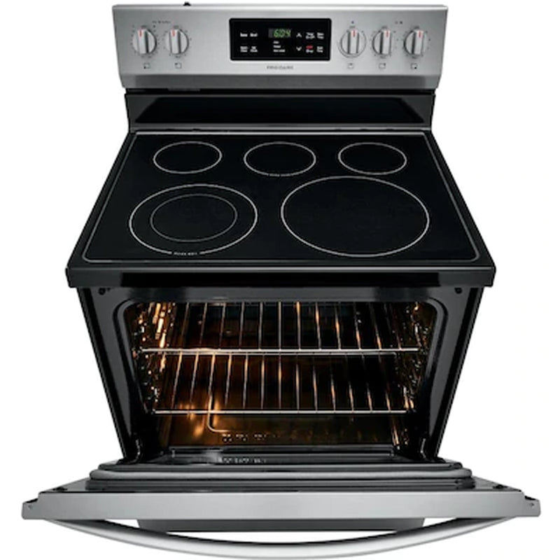 Frigidaire - 30 Inch Electric Range - Stainless Steel - Appliances Club
