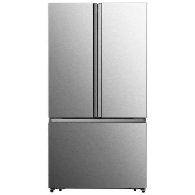 Hisense - 26.6-cu ft French Door Refrigerator with Ice Maker - Fingerprint Resistant Stainless Steel