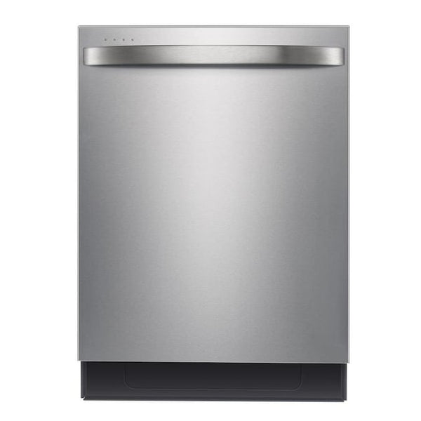 Midea - 45-Decibel Top Control 24-in Built-In Dishwasher - Silver