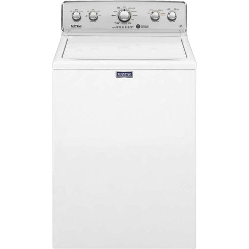 Maytag - 4.2 Cu. Ft. 11-Cycle High-Efficiency Top-Loading Washer - White
